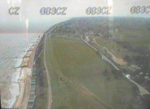 The view from the top of the Holland-on-Sea tower as transmitted by GB3CZ